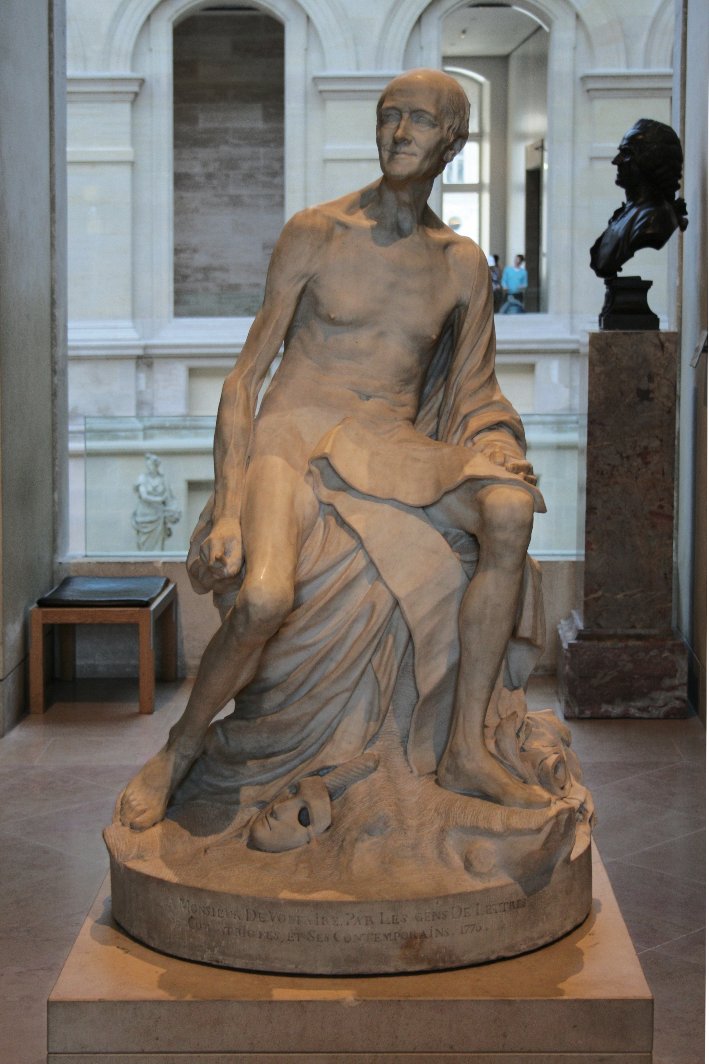 Marmor, 150 cm × 89 cm × 77 cm, Paris, Musée du Louvre, Inv.-Nr. Ent. 1962.1 (Leihgabe des Institut de France.)<br>
