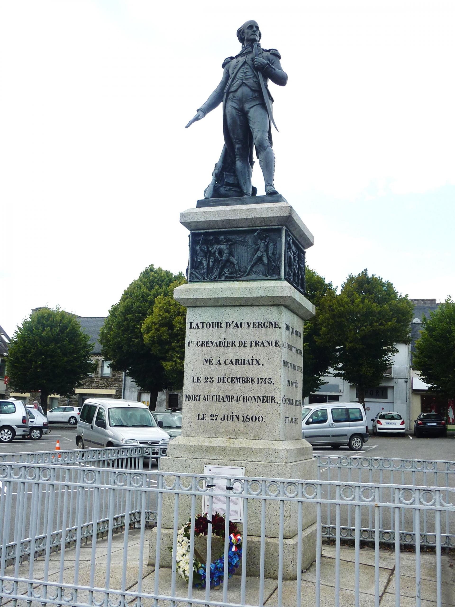 Denkmal für Théophile La Tour d'Auvergne