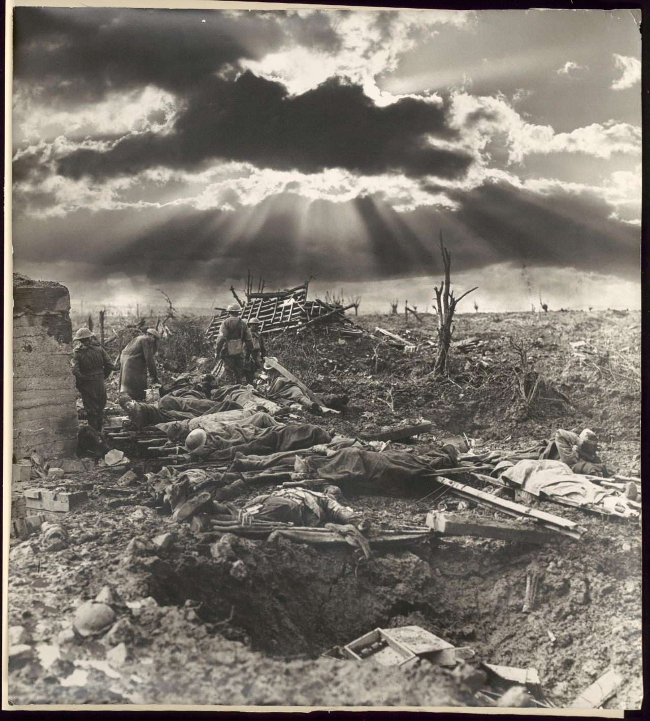 "Frank Hurley: ""The morning after the first battle of Passchendaele [Passendale] ..."""