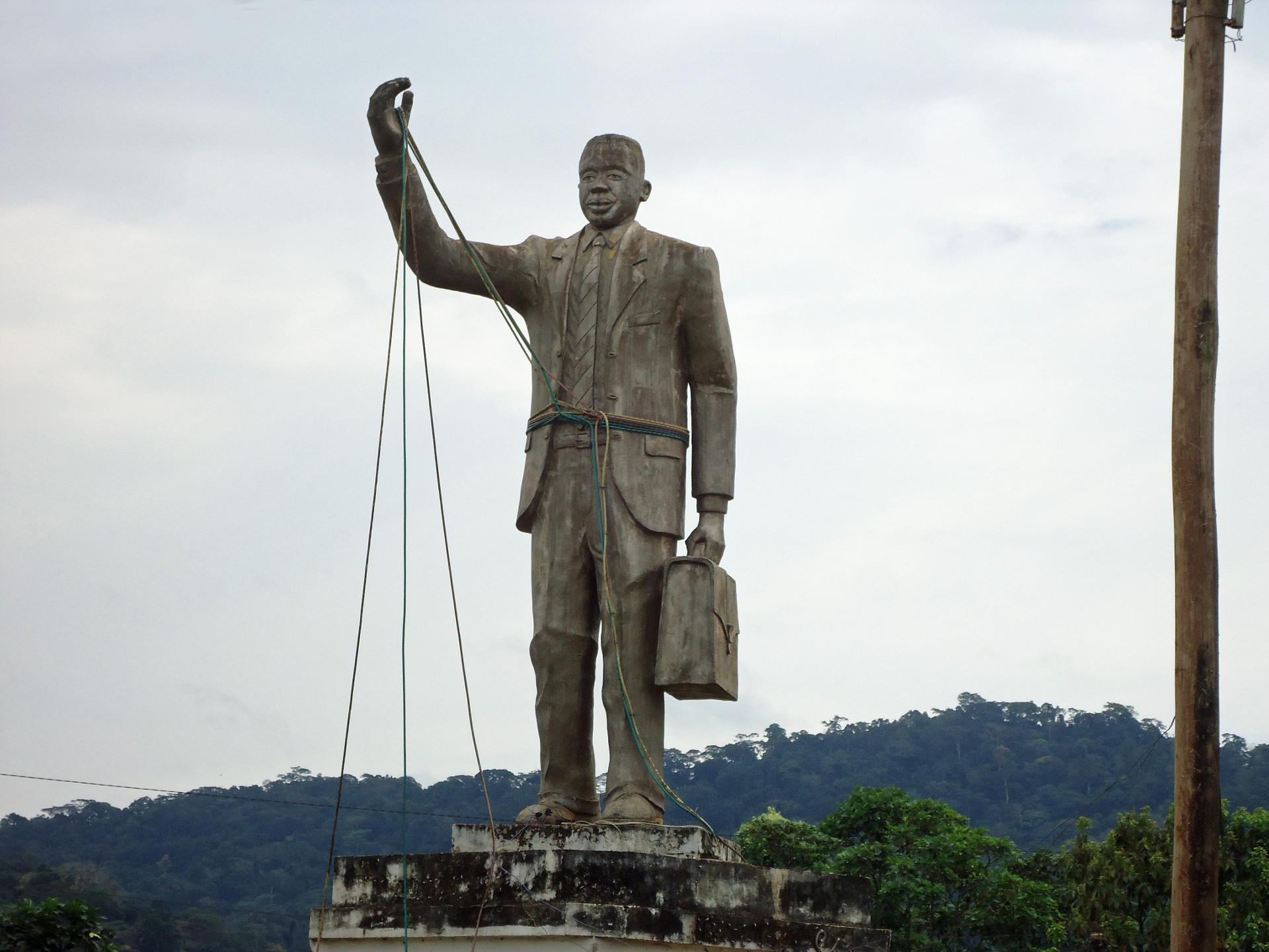 Denkmal für Ruben Um Nyobé