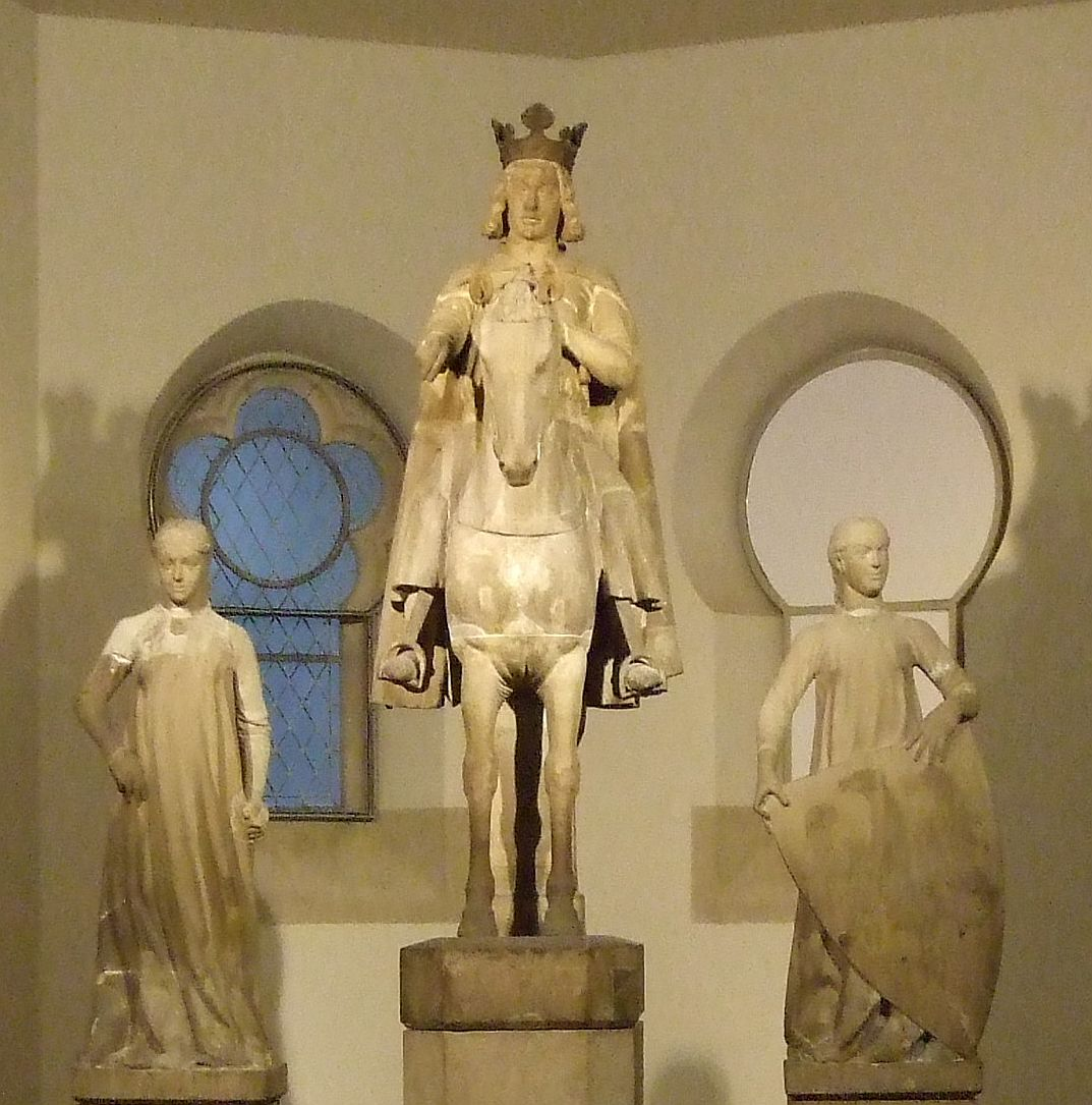um 1240, Sandstein, Kulturhistorisches Museum Magdeburg.<br>