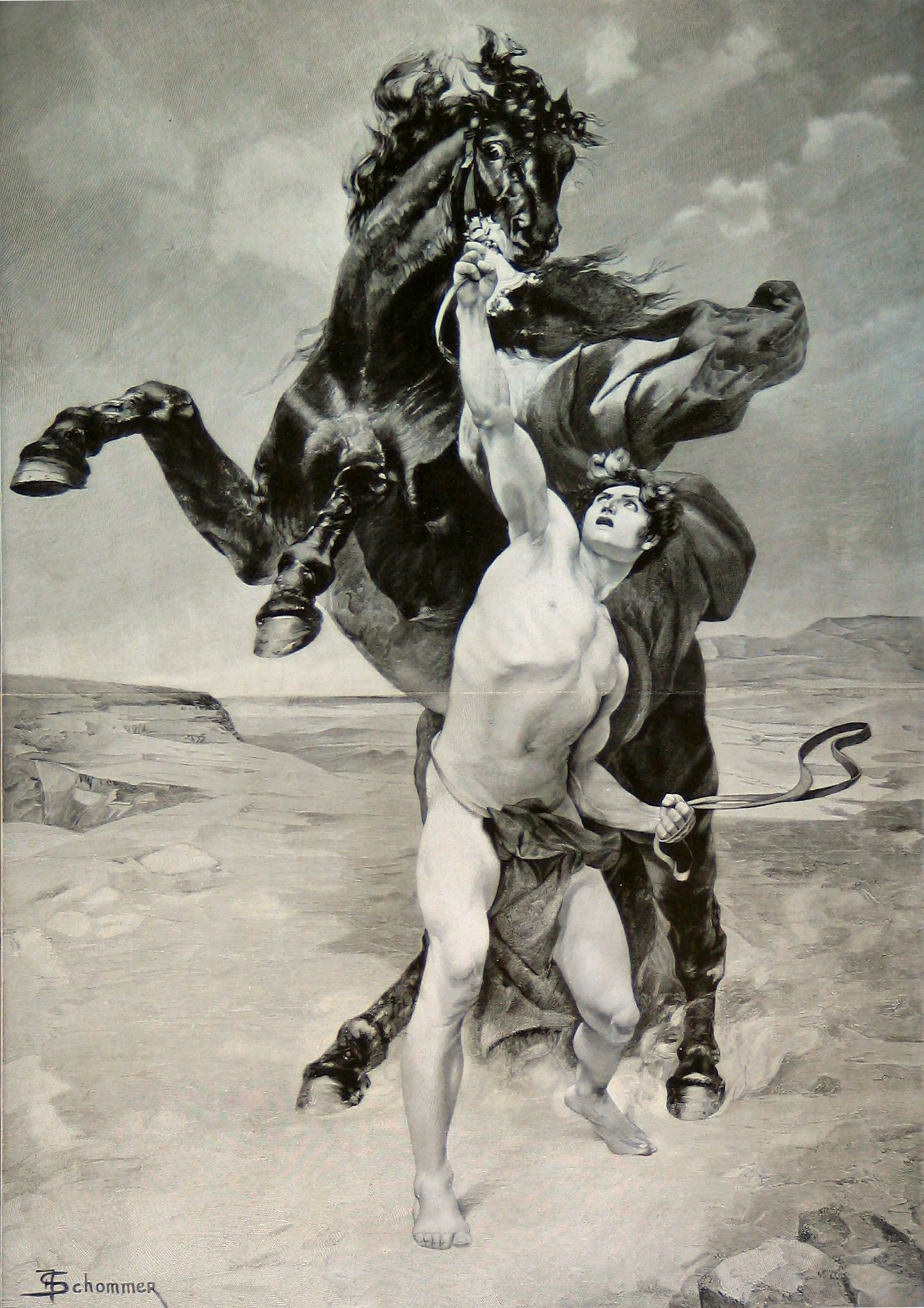 Original um 1880, fotografische Reproduktion vor 1935.<br>