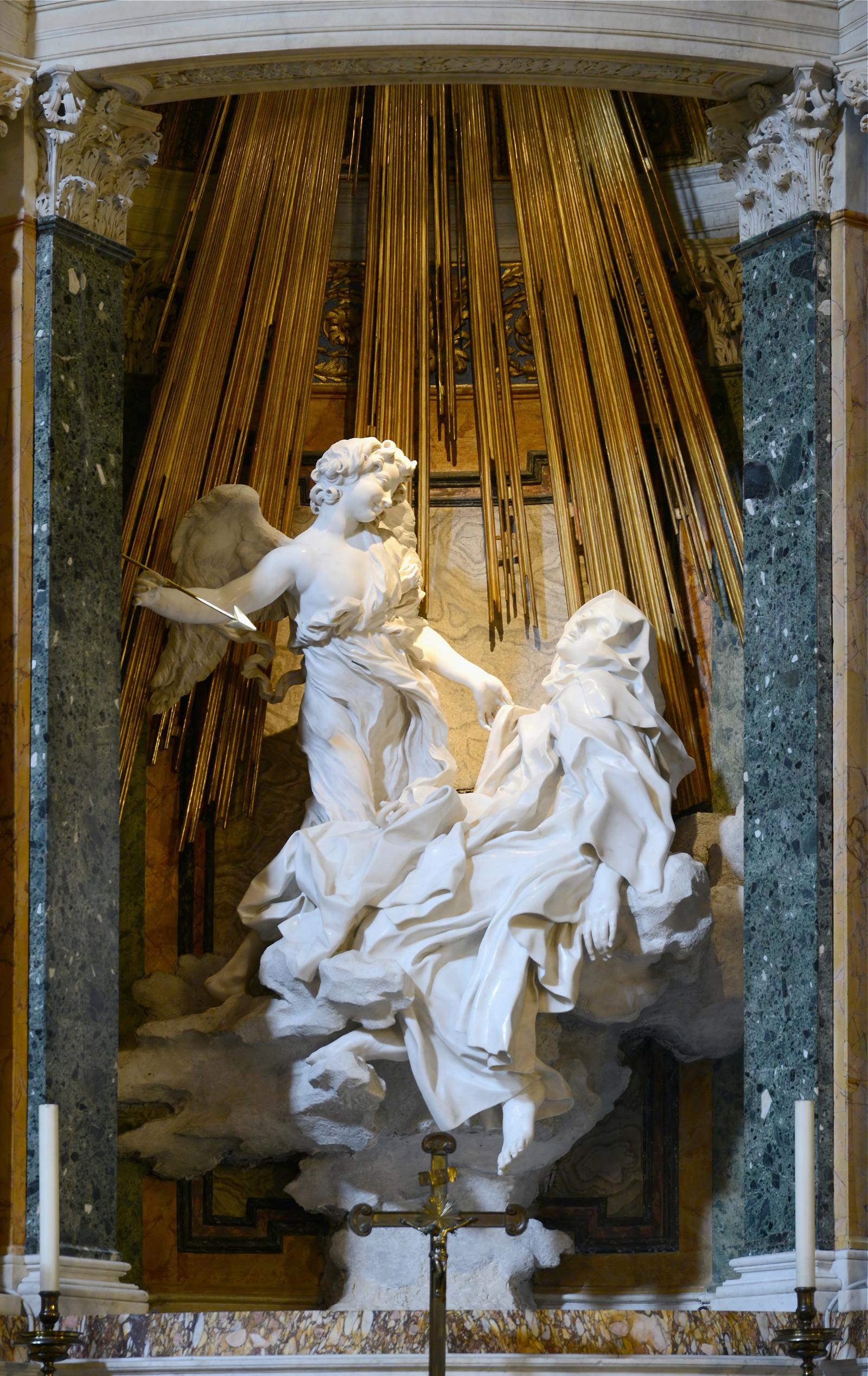 "Gian Lorenzo Bernini: ""Die Transverberation der hl. Teresa von Ávila"""
