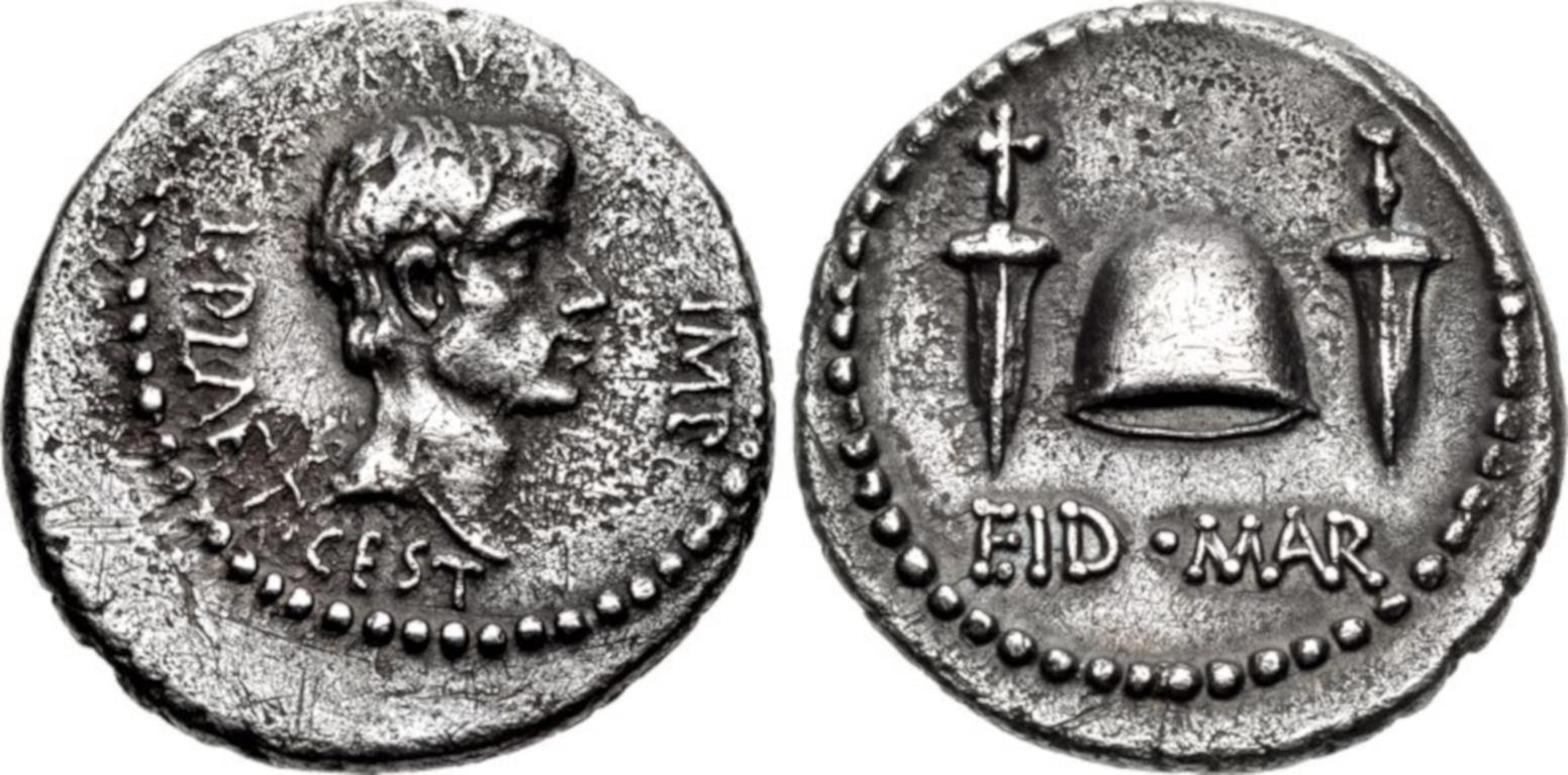 Denar des Marcus Iunius Brutus