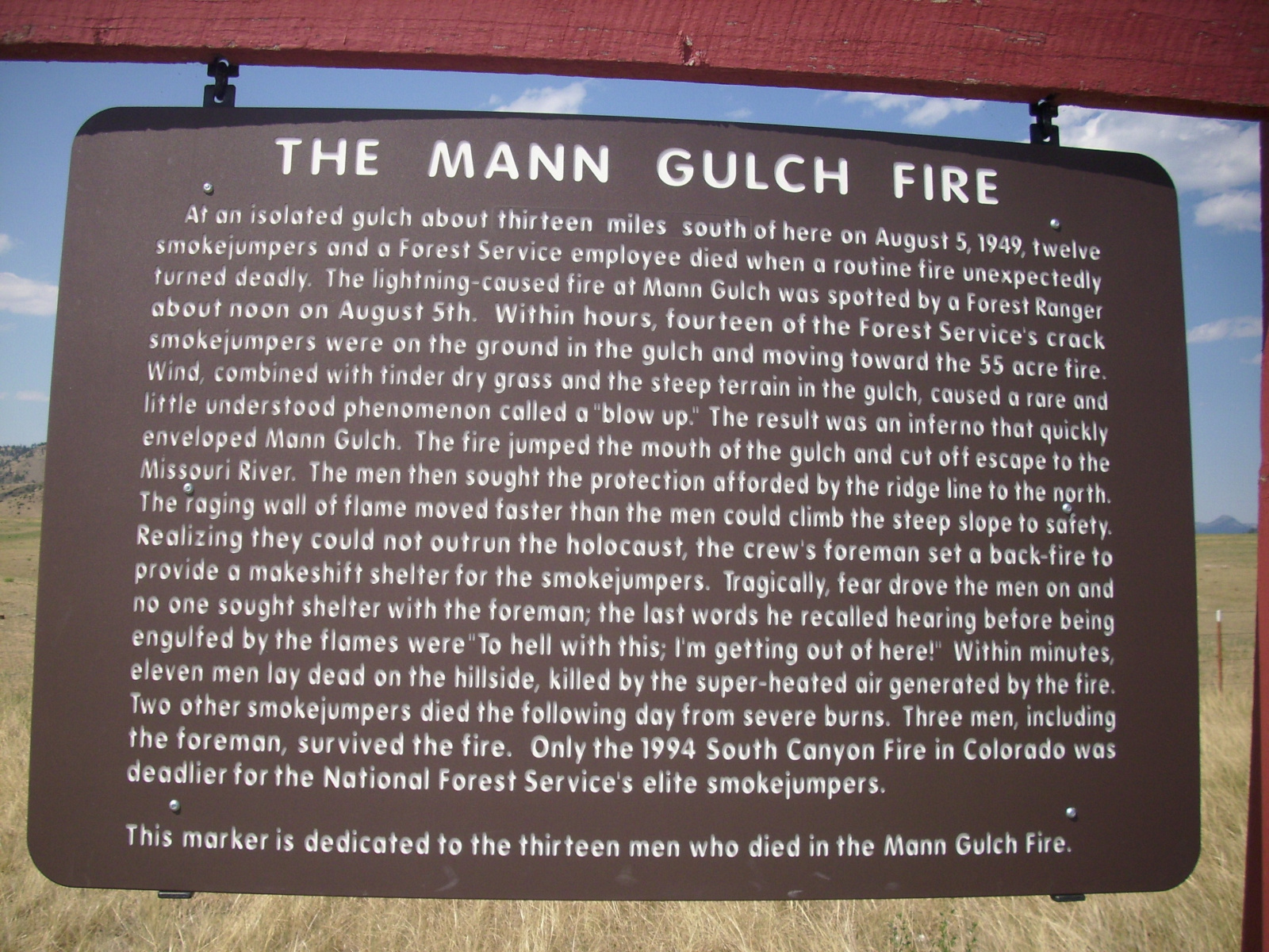"""The Mann Gulch Fire"""