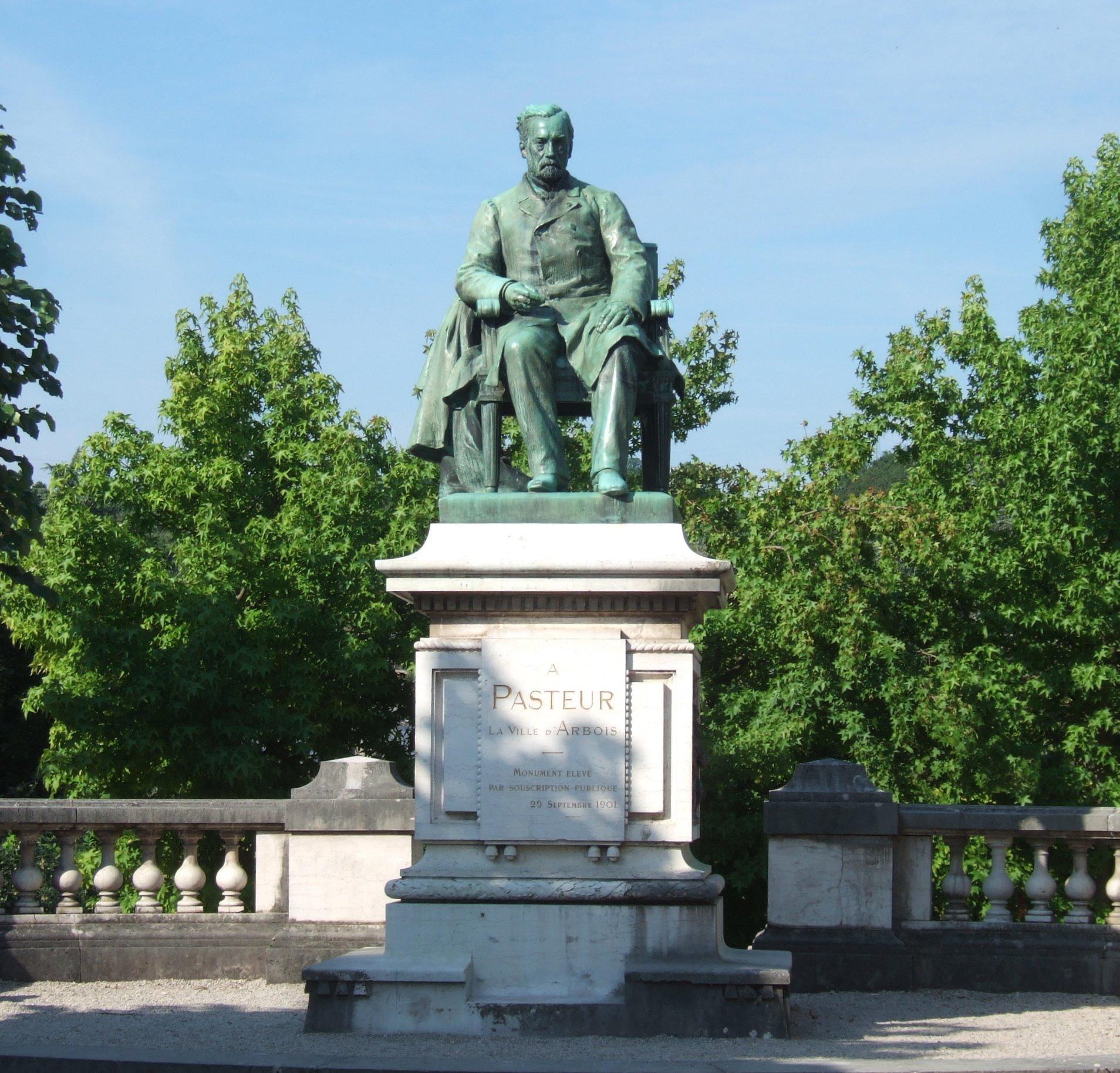 Pasteur-Denkmal