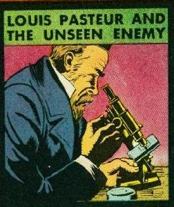 Titelblatt von Real Heroes, Nr. 7, November 1942. (Vergrößerter Ausschnitt.)<br> Lizenz: Zitat nach § 51 UrhG