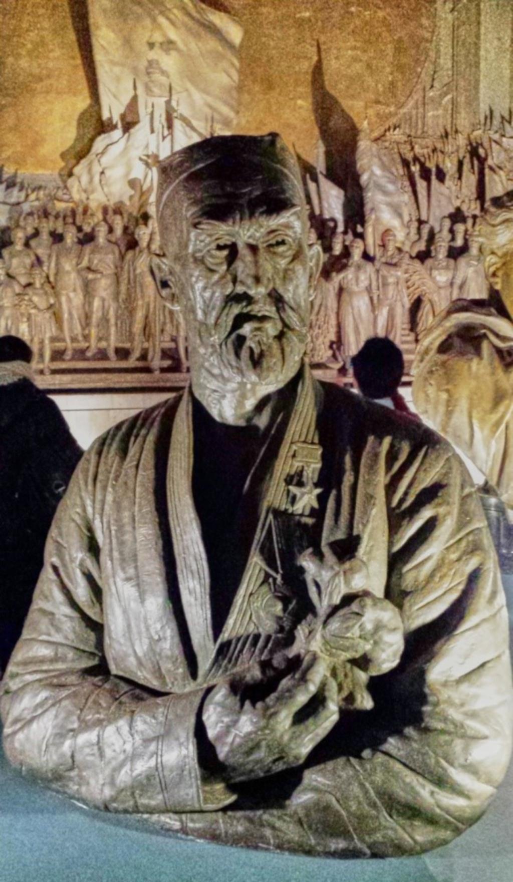 Evgenij Vučetič: Porträt des Helden der sozialistischen Arbeit Nazar-ali Nijazov